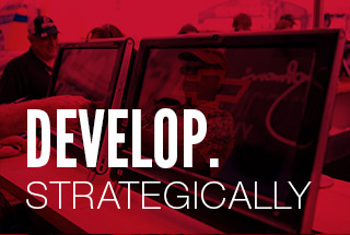 Develop. Strategically